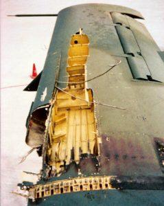 Wing damage