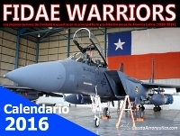 Calendario 2016: FIDAE Warriors