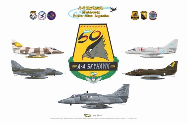 Lámina 50 Aniversario Slyhawk