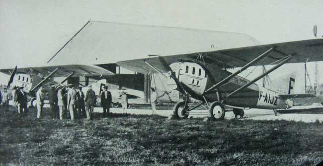 La llegada de los servicios de Aeroposta Argentina marcaron un punto de inflexión en las comunicaciones de la Patagonia (foto Archivo General de la Nación).